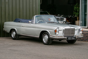 1971 Mercedes-Benz 280SE 3.5 Cabriolet (W111) #2157 1 of 68 made