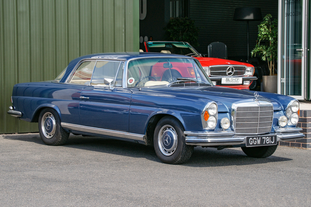 1971 Mercedes-Benz 280SE 3.5 Coupe (W111) #2159 Restored  SOLD (picture 1 of 1)