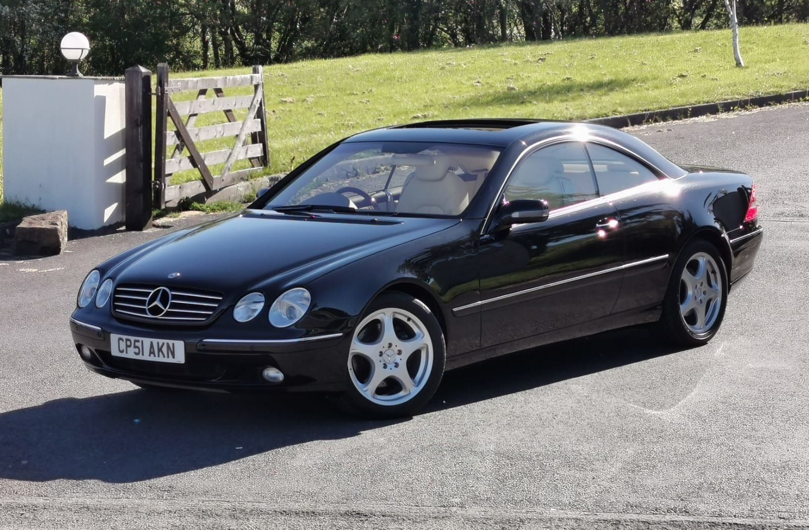 2001 Mercedes Benz CL500 1 Owner With Just 19,500 Miles  For Sale (picture 1 of 6)