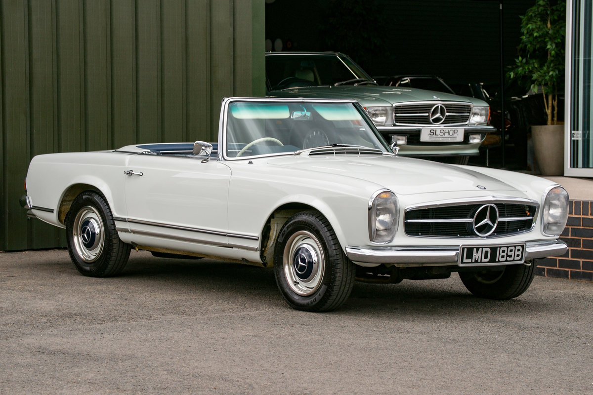 1964 Mercedes-Benz 230SL Pagoda (W113) #2141 Restored For Sale (picture 1 of 6)