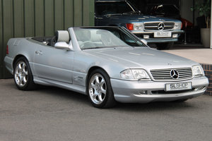 2001 Mercedes-Benz SL500 Silver Arrows Edition (R129) #2151