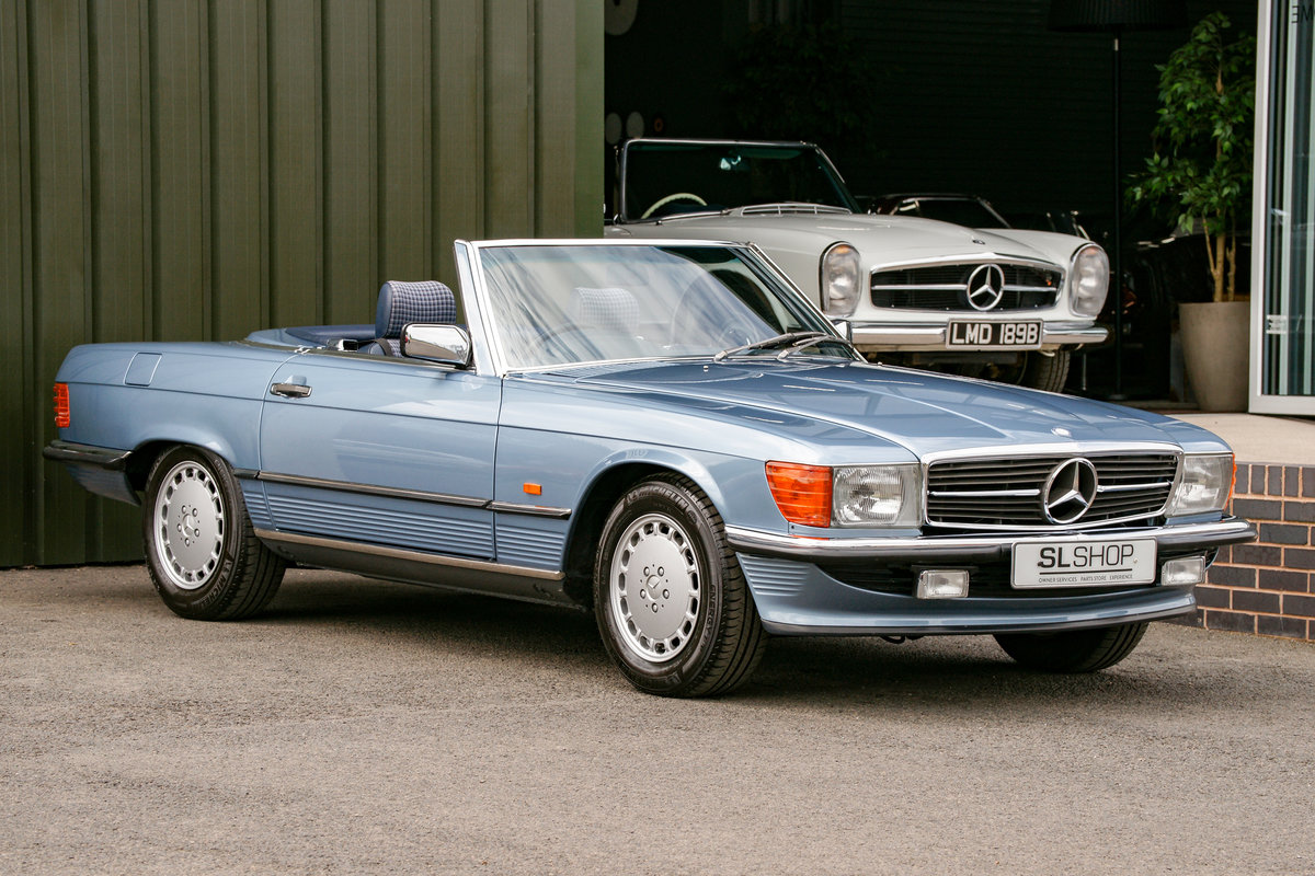 1986 Mercedes-Benz 300SL (R107) #2152 53k miles For Sale (picture 1 of 6)