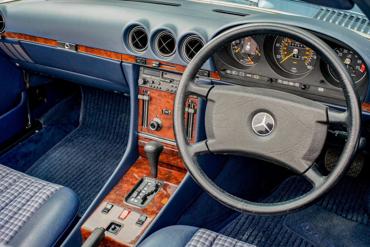 1986 Mercedes-Benz 300SL (R107) #2152 53k miles For Sale (picture 4 of 6)