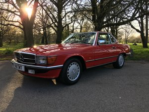 Mercedes 300SL W107 1989 great value compared to cars below