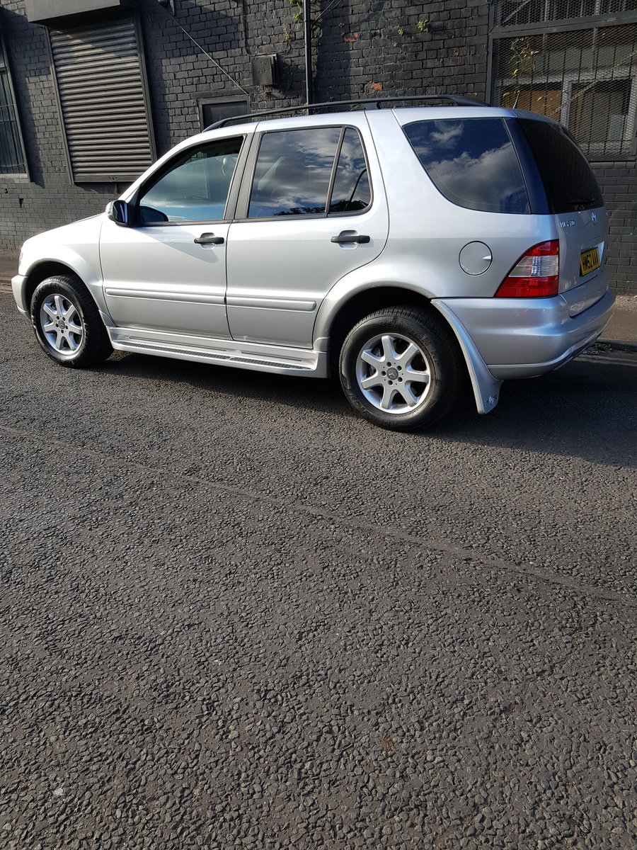 2002 Mercedes Ml270 low miles  For Sale (picture 1 of 6)