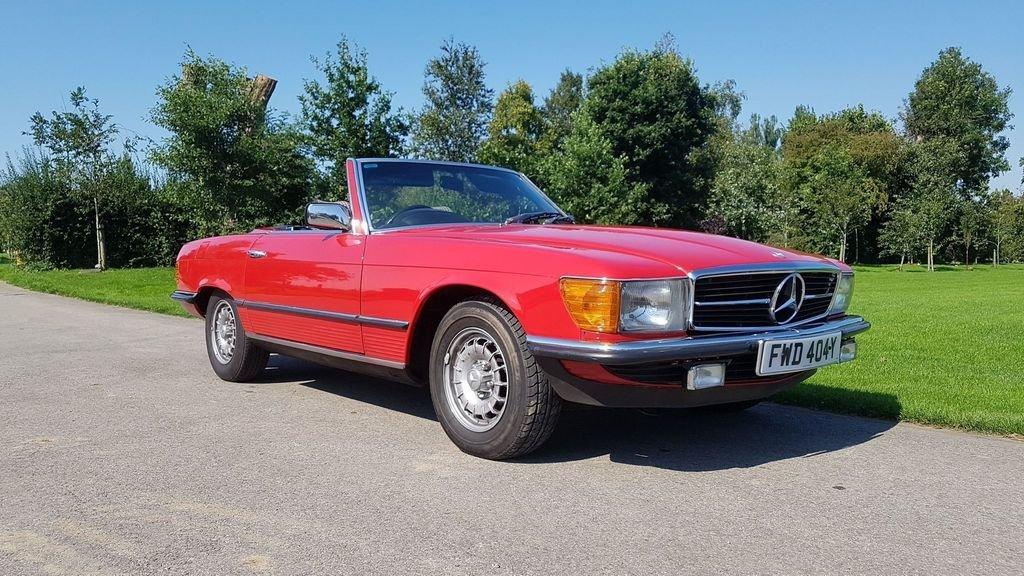 1983 Mercedes 280SL 1982 W107 Sports Convertible Auto Bargain  SOLD (picture 1 of 6)