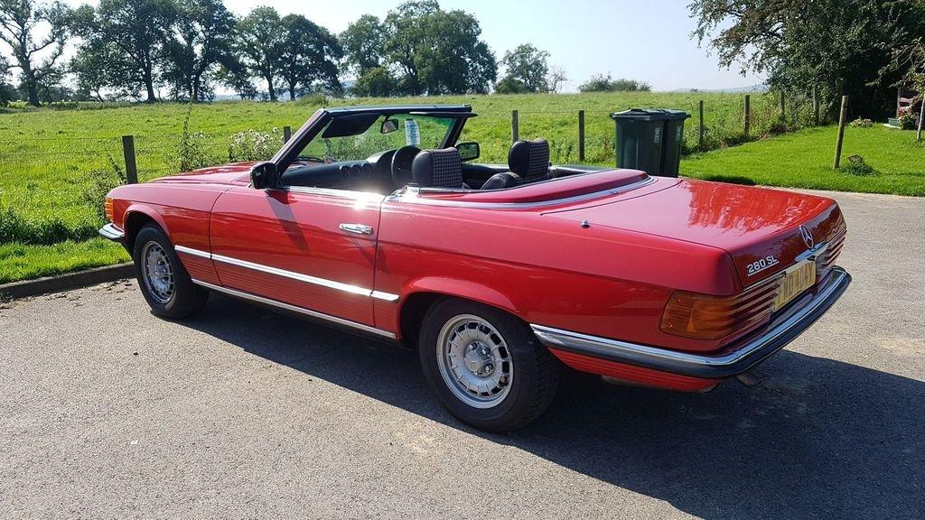 1983 Mercedes 280SL 1982 W107 Sports Convertible Auto Bargain  SOLD (picture 2 of 6)