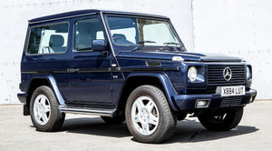 2000 MERCEDES-BENZ G500 SWB WAGON For Sale by Auction