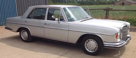 1971 MERCEDES-BENZ W108 280SE For Sale by Auction