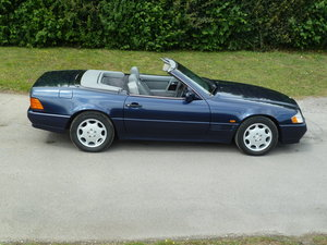 1995 MERCEDES BENZ SL500 - REDUCED TO £9450 SOLD