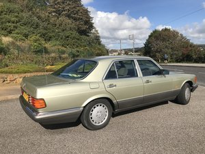 1986 Mercedes 420 V8 SE Auto Thistle Green