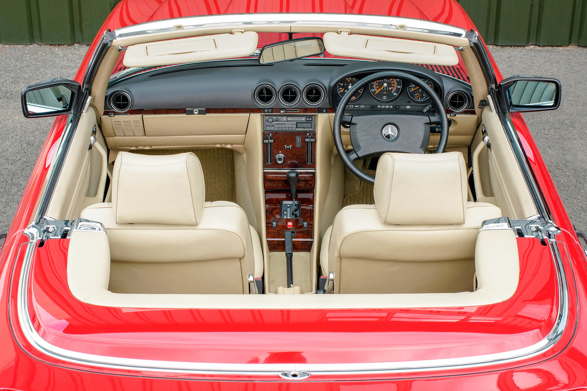 1989 Mercedes-Benz 420SL V8 (R107) #2105 Just 1500 Miles! For Sale (picture 4 of 6)