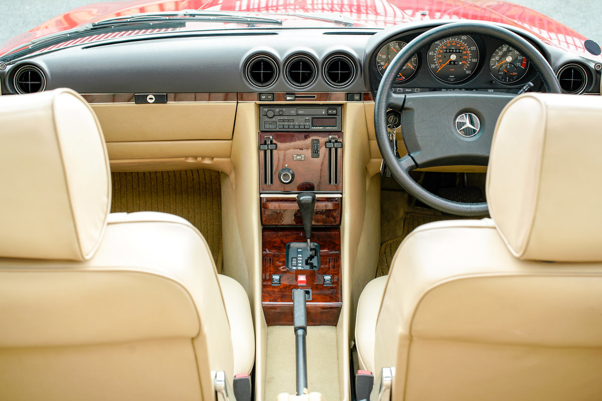 1989 Mercedes-Benz 420SL V8 (R107) #2105 Just 1500 Miles! For Sale (picture 6 of 6)