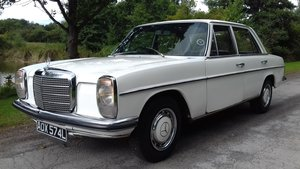 1972 MERCEDES 220 W115 SALOON ~ 'BULLET PROOF' ~ MOT EXEMPT  SOLD