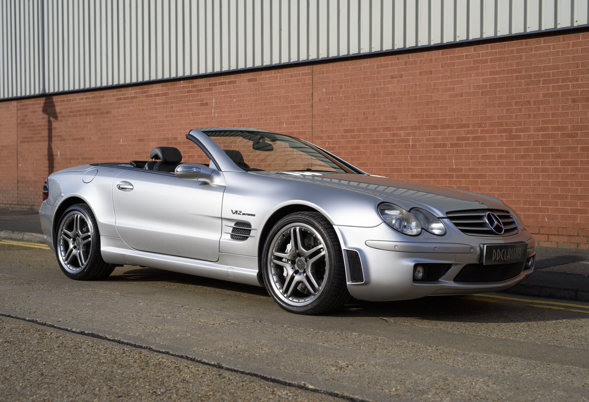 2005 Mercedes-Benz SL65 AMG V12 Bi Turbo F1 Pace Car (RHD) For Sale (picture 2 of 24)