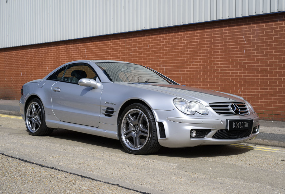 2005 Mercedes-Benz SL65 AMG V12 Bi Turbo F1 Pace Car (RHD) For Sale (picture 9 of 24)