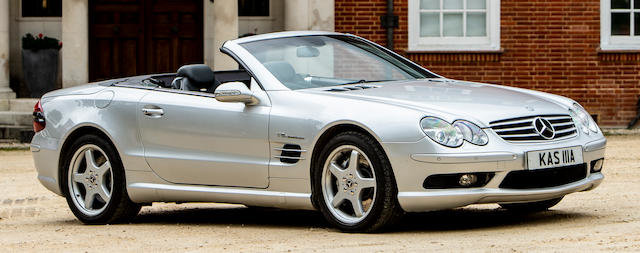 2002 MERCEDES-BENZ SL 5.5 AMG For Sale by Auction