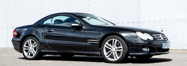 2007 MERCEDES-BENZ SL500 For Sale by Auction