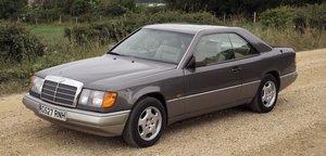 1990 MERCEDES-BENZ 230 CE COUPÉ For Sale by Auction
