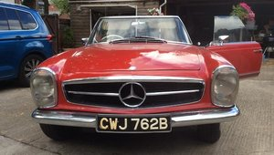 1964 MERCEDES-BENZ PAGODA 230SL For Sale by Auction