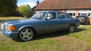 1988 Mercedes 560 SEL, V8, W126, Cheapest in UK