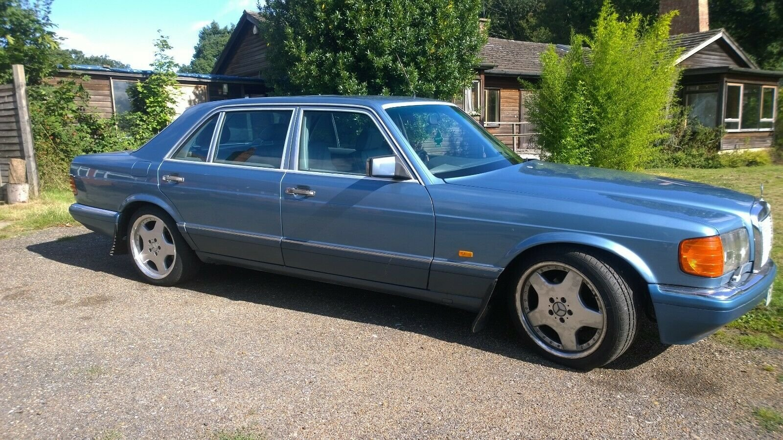 1988 Mercedes 560 SEL, V8, W126, 2+2, Cheapest in UK For Sale (picture 2 of 6)