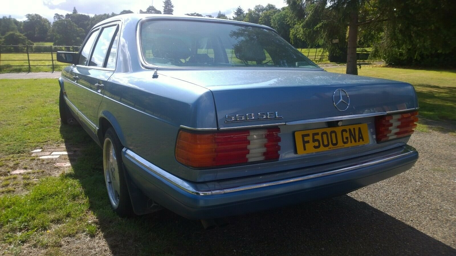 1988 Mercedes 560 SEL, V8, W126, 2+2, Cheapest in UK For Sale (picture 3 of 6)