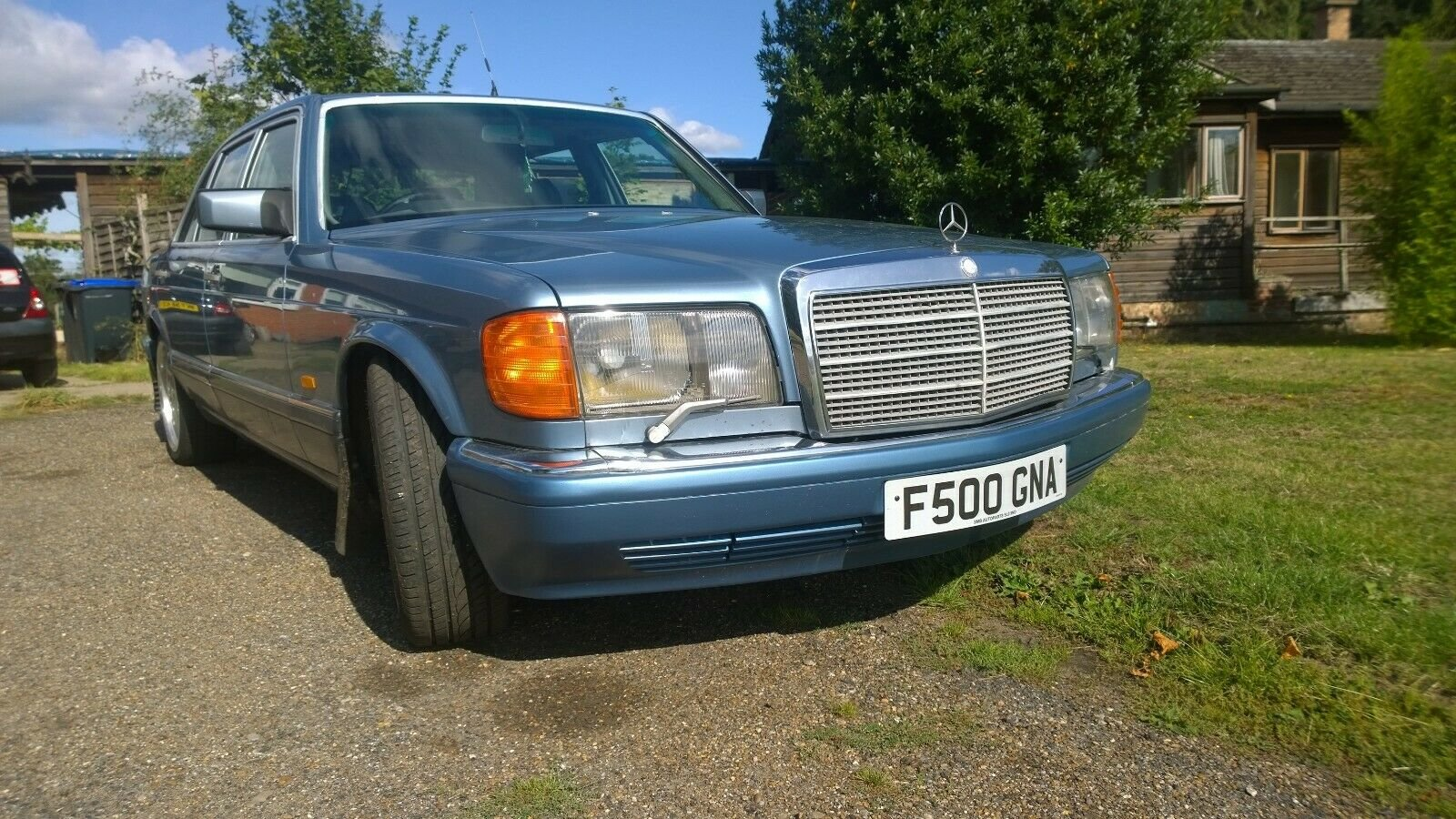 1988 Mercedes 560 SEL, V8, W126, 2+2, Cheapest in UK For Sale (picture 4 of 6)