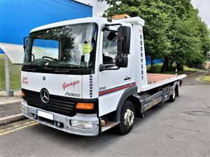 2005 MERCEDES ATEGO 818 TILT & SLIDE BODY RECOVERY TRUCK SPEC  For Sale