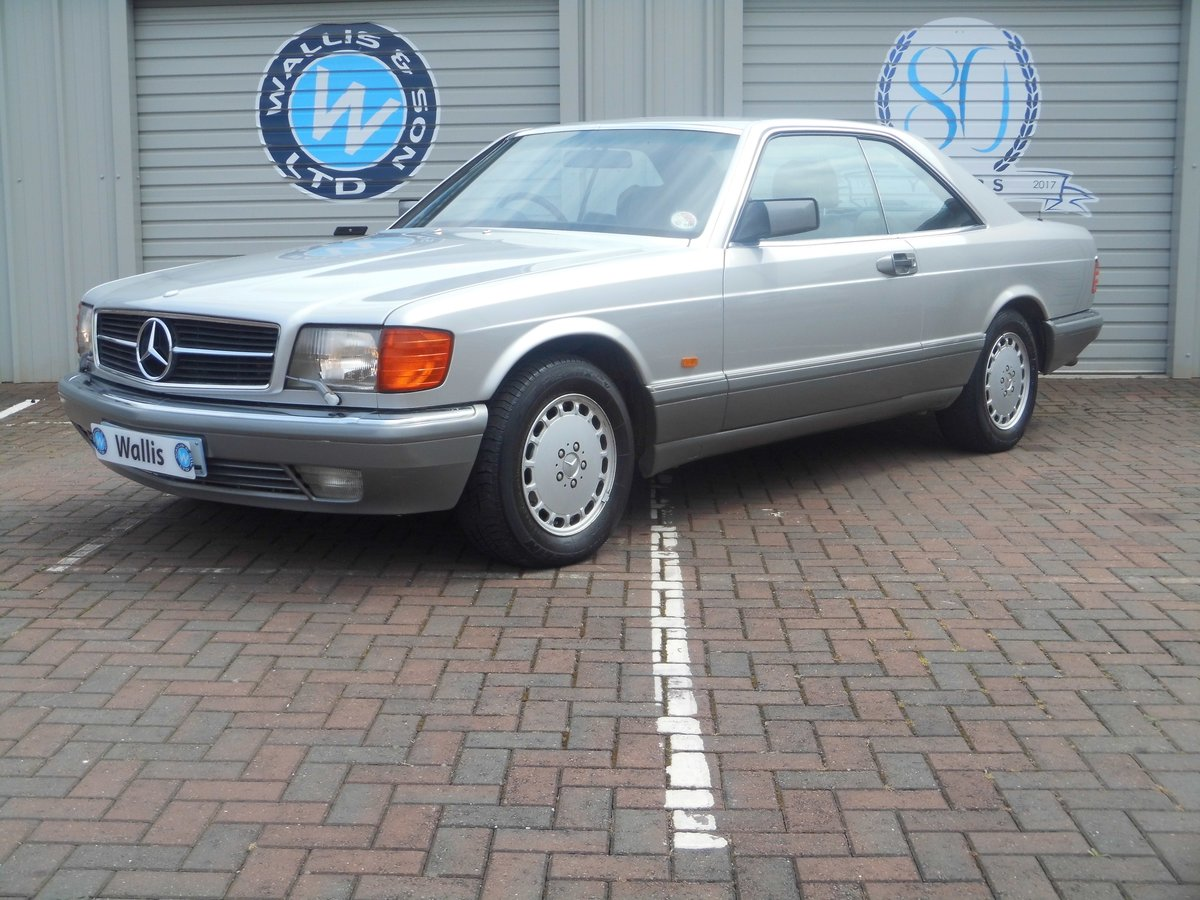 Mercedes-Benz 500 5.0 SEC 2dr 1987 (E) 135,527 miles For Sale (picture 1 of 6)