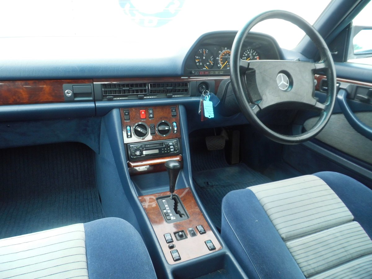 Mercedes-Benz 500 5.0 SEC 2dr 1987 (E) 135,527 miles For Sale (picture 2 of 6)