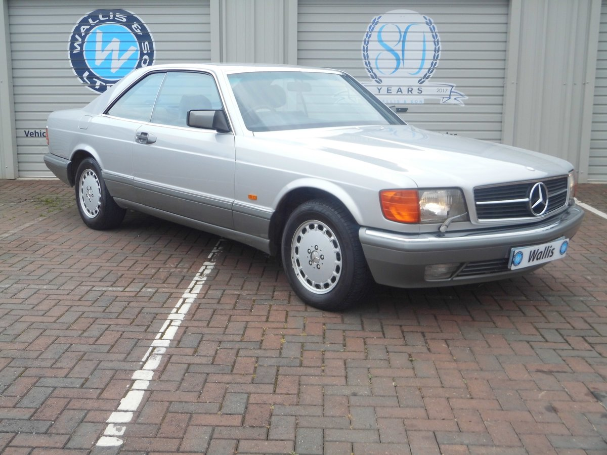 Mercedes-Benz 500 5.0 SEC 2dr 1987 (E) 135,527 miles For Sale (picture 3 of 6)