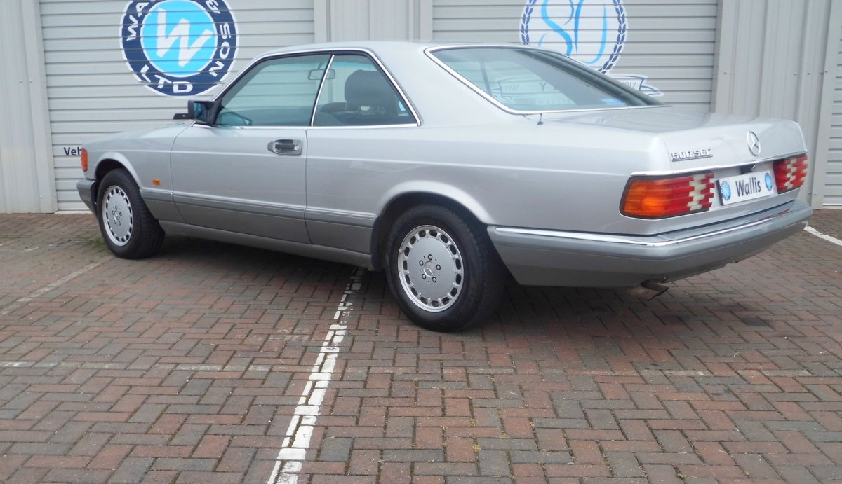 Mercedes-Benz 500 5.0 SEC 2dr 1987 (E) 135,527 miles For Sale (picture 4 of 6)
