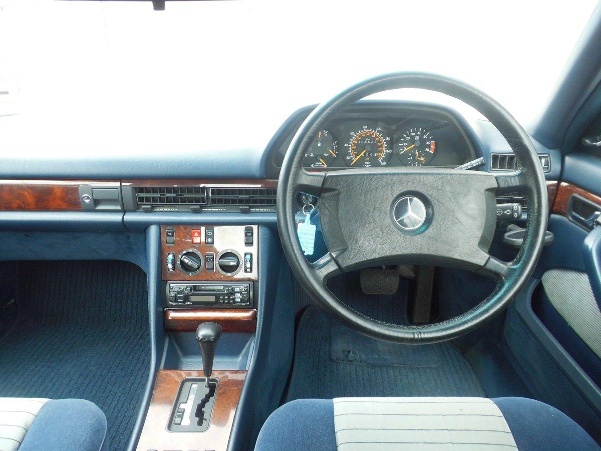 Mercedes-Benz 500 5.0 SEC 2dr 1987 (E) 135,527 miles For Sale (picture 6 of 6)
