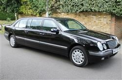2000 E240 Elegance Six Door Limo - Barons Friday 20th Sept 2019  For Sale by Auction