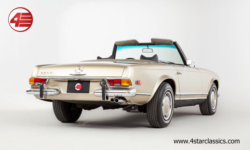 1970 Mercedes 280SL Pagoda /// Superb /// Freshly Serviced For Sale (picture 4 of 6)
