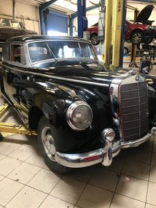 1955 Mercedes 300B Adenauer right hand drive