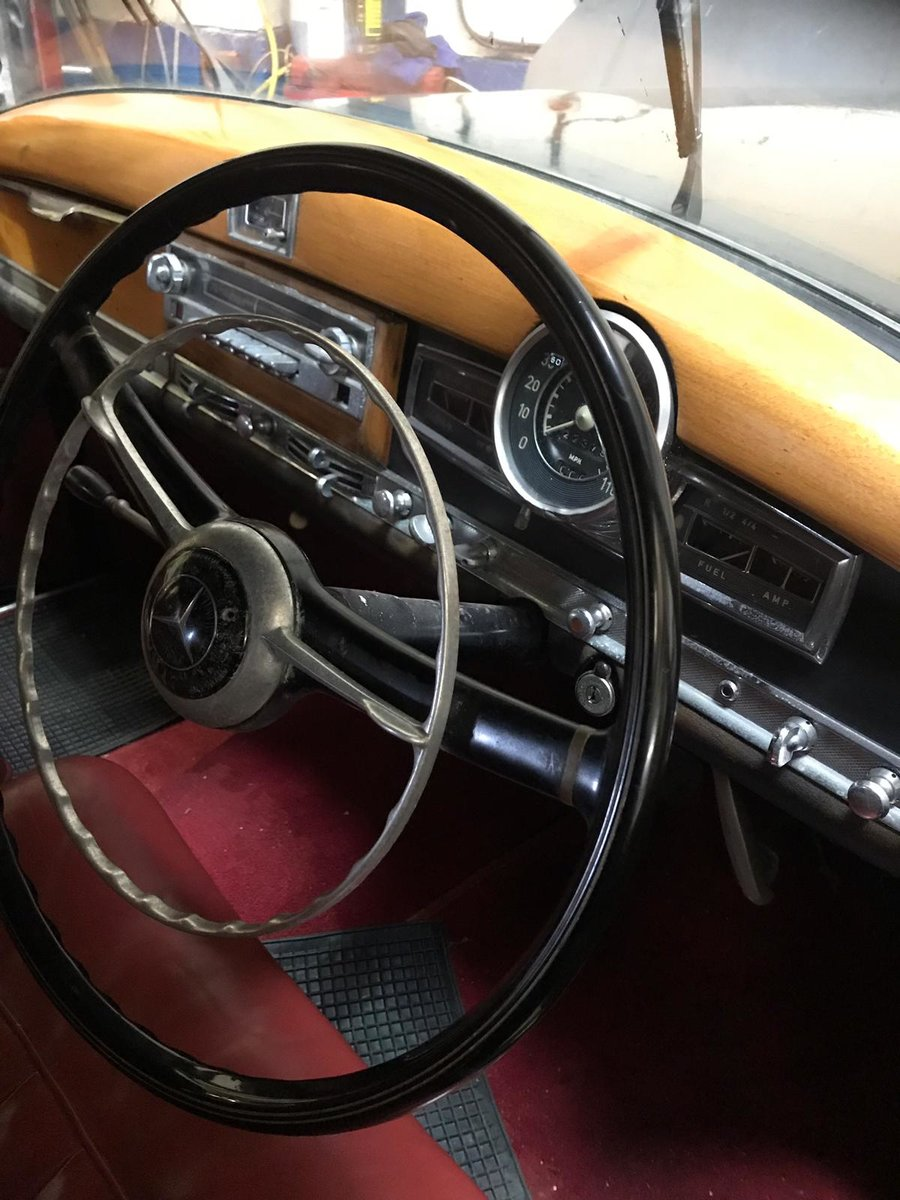 1955 Mercedes 300B Adenauer right hand drive For Sale (picture 3 of 6)