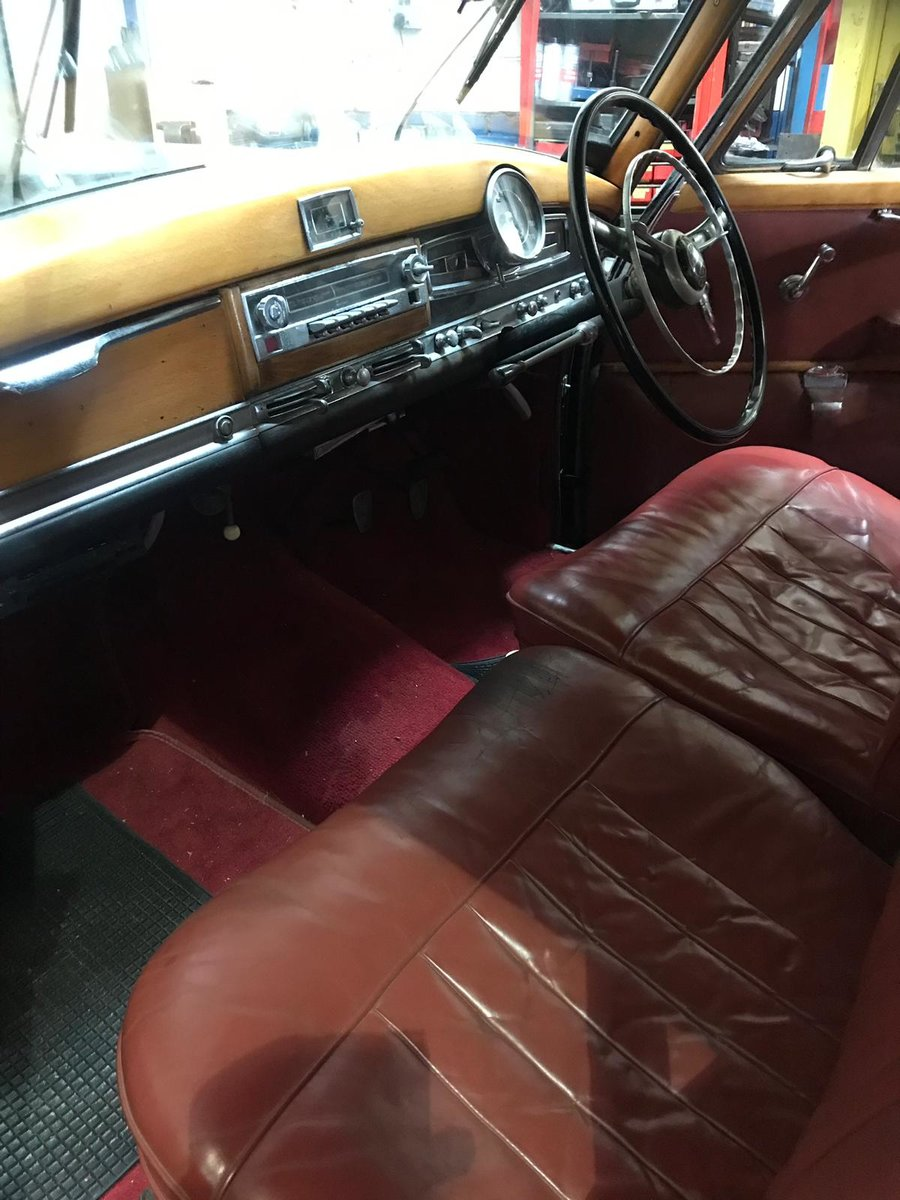 1955 Mercedes 300B Adenauer right hand drive For Sale (picture 4 of 6)