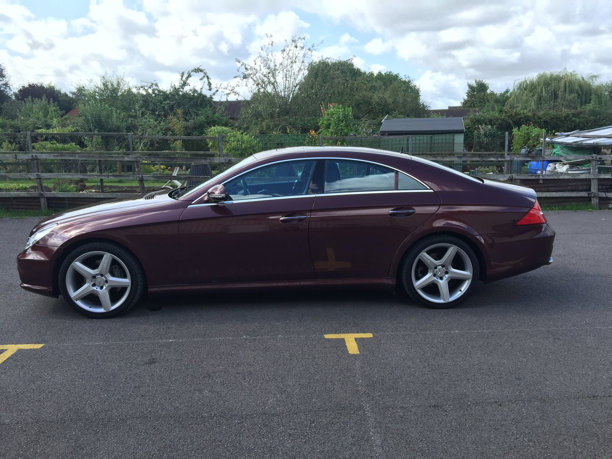 2005 Mercedes CLS 1 owner collectors condition For Sale (picture 2 of 6)