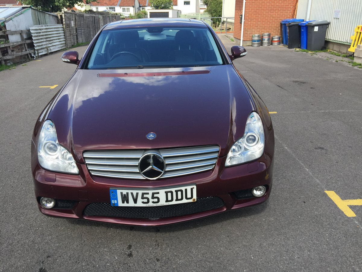 2005 Mercedes CLS 1 owner collectors condition For Sale (picture 3 of 6)