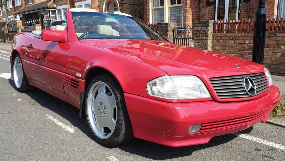 1994 Mercedes R129 SL 280 - Excellent Condition For Sale (picture 1 of 6)