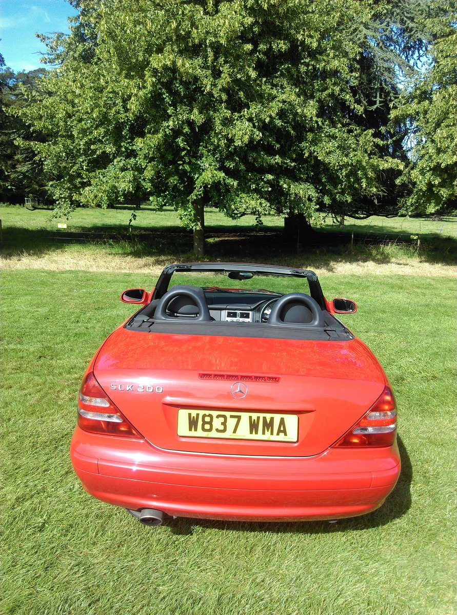 2000 Mercedes SLK 200 only 45500 miles beautiful For Sale (picture 2 of 6)