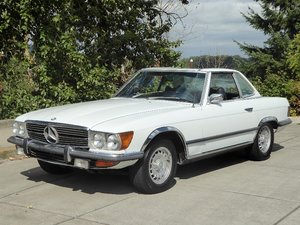 1972 Mercedes 350SL Roadster Convertible Ivory(~)Navy $8.9k For Sale