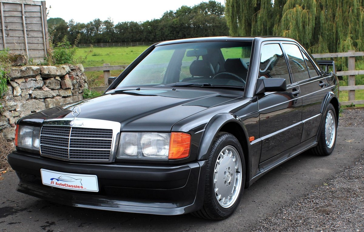 1989 Mercedes 190 Evolution,AMG Powerpack,72,902 miles For Sale (picture 1 of 6)