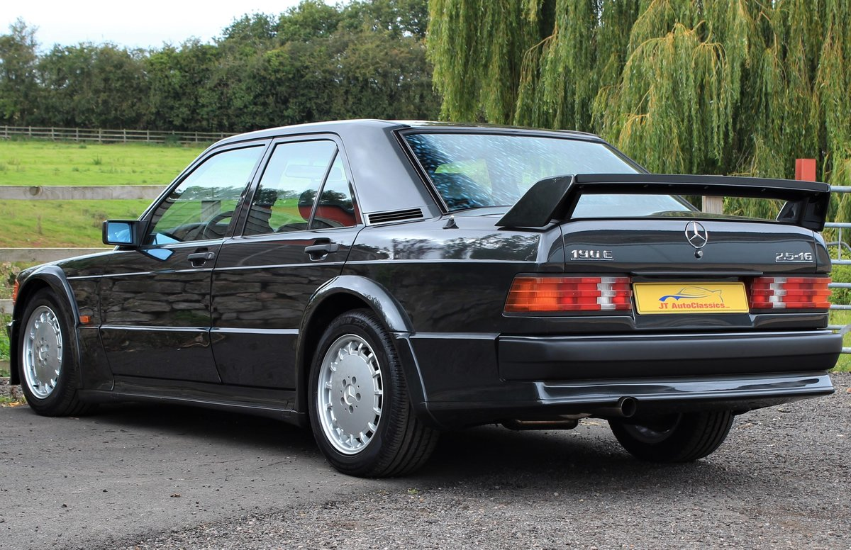 1989 Mercedes 190 Evolution,AMG Powerpack,72,902 miles For Sale (picture 4 of 6)