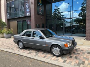 1992 Mercedes 190e 2.6 64k miles RUST FREE FSH For Sale