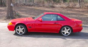 1992 Mercedes SL 300 with hard top. Needing TLC For Sale