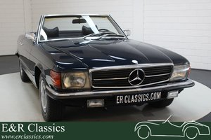 1971 Mercedes Benz 350SL V8 convertible dark blue For Sale