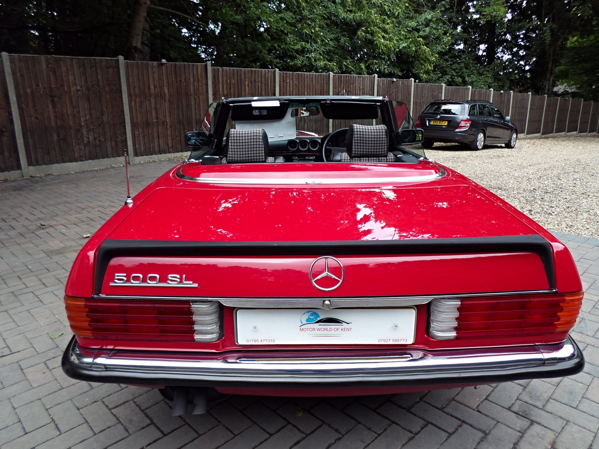 1983 Mercedes sl 500 r107 model For Sale (picture 4 of 6)